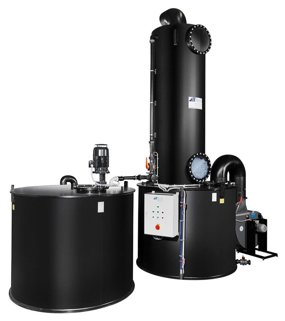 کلرزن گازی و مایع
